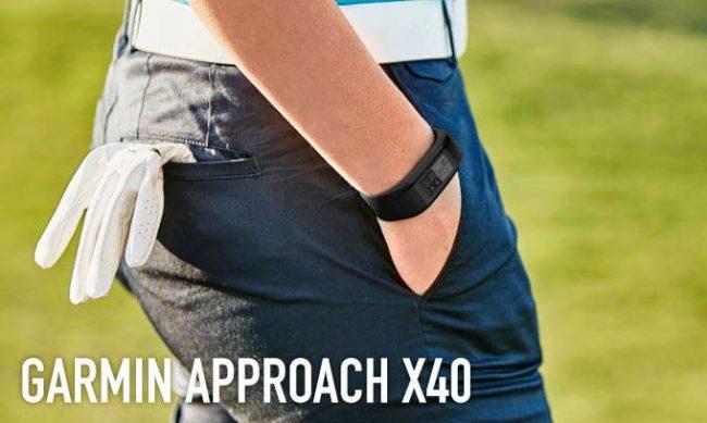 Garmin Approach X40, il bracciale che rivela tutti i segreti del golf