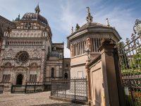 Bergamo, Cappella Colleoni e il Battistero
