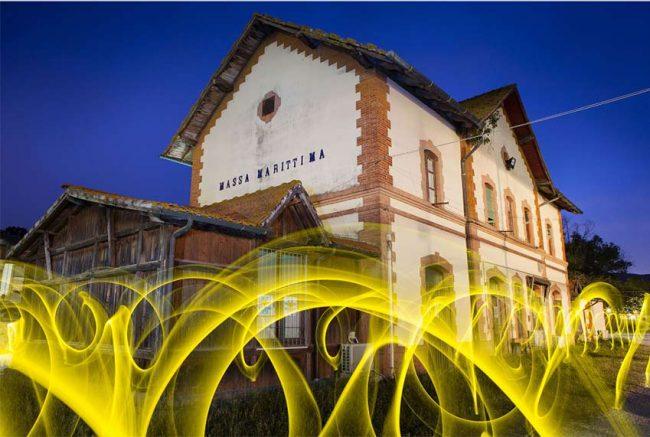 "Ivan Falardi ""La partenza del treno giallo"