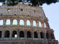 Un dettaglio dell'esterno del Colosseo restaurato, foto di Gianfranco Nitti