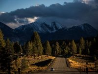 Highway 395 for Mammoth Lakes