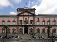 Ingresso del Museo Archeologico Nazionale di Napoli