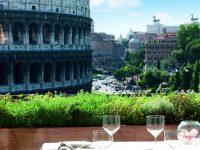 Roma, l'Hotel Capo d'Africa ospita Terrazze Gourmet