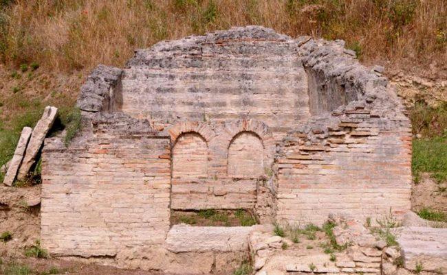 Una delle catacombe di Canosa