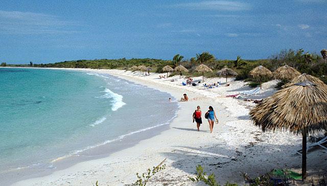 Cuba, la spiaggia di Cayo las Brujas
