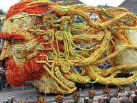La città di Zundeert rende omaggio con una scultura floreale a  Van Gogh