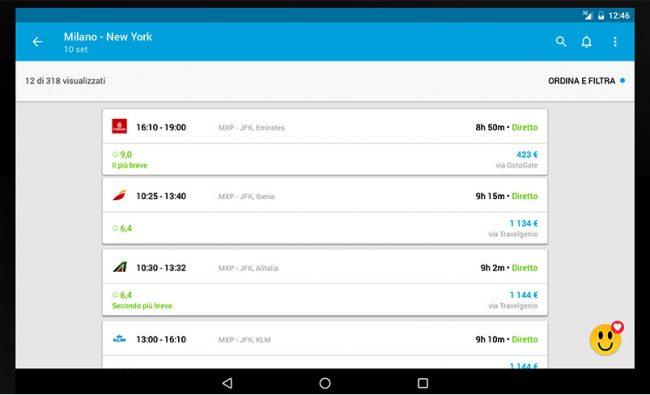 Skyscanner arricchisce la sua app voli con hotel e autonoleggio