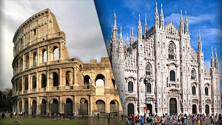 I turisti preferiscono milano a roma effetto for Affitti cabina della domenica