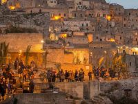 I Sassi di Matera si trasformano per il Natale nella Galilea di Gesù