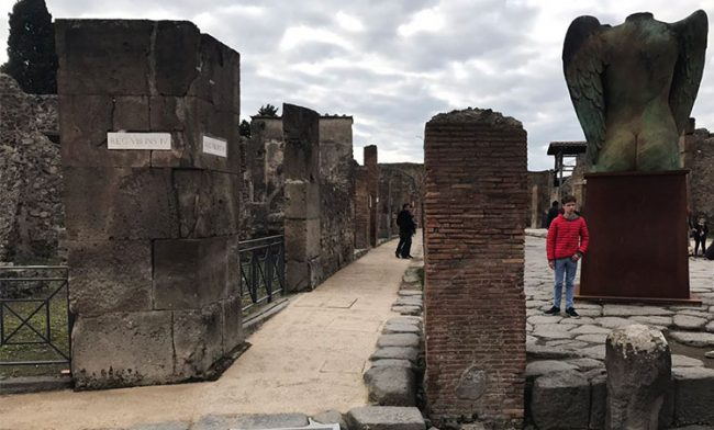 Pompei: cadono le barriere architettoniche
