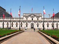Santiago del Cile, Palazzo della Moneda