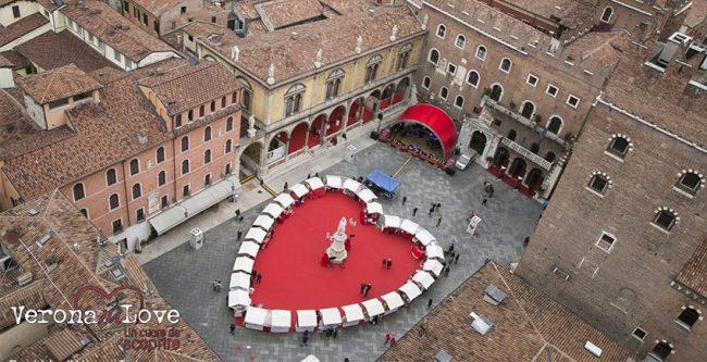 Verona in Love: Cupido lancia le sue frecce