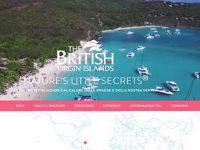 Isole Vergini Britanniche: nuovo sito web in italiano