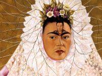 Frida-Kalho autoritratto com Tehuana