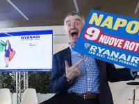 Nove nuove rotte Ryanair da Napoli per il prossimo inverno