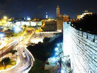 Panorama sulle mura delle Cittadella di Davide e Torre di Davide