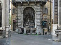 Roma, via delle quattro fontane