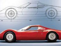 Dino Berlinetta 206 P prototipo del 1965