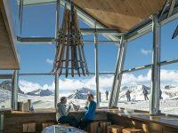Il nuovo rifugio Panorama 3000 Glacier