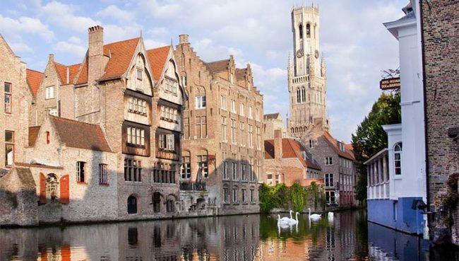 Crociera 5. Bruges, magica atmosfera medievale