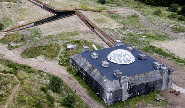 Il museo Tirpitz visto dall'alto (Ph: Rasmus Bendix)