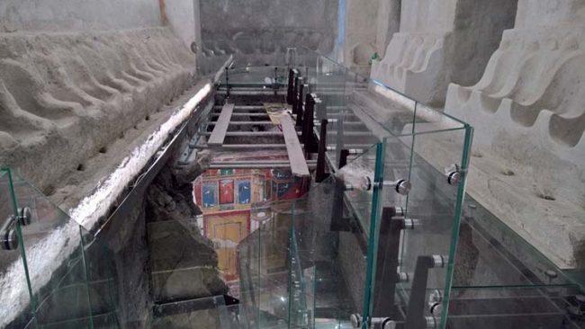 Positano, gli scavi che hanno portato al ritrovamento della Villa Romana del I sec. d.C.