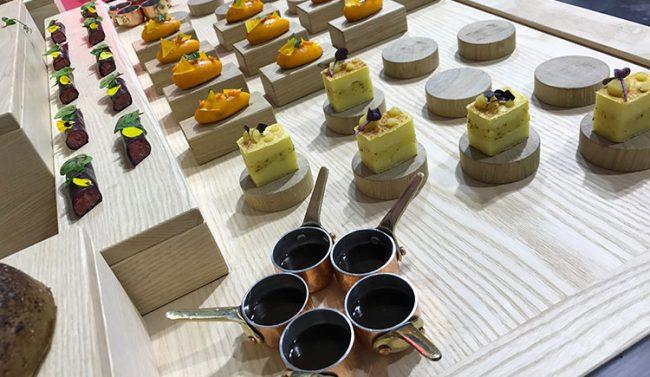 Alba, uno dei piatti presentati dai concorrenti