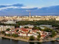 Minsk, capitale della Bielorussia