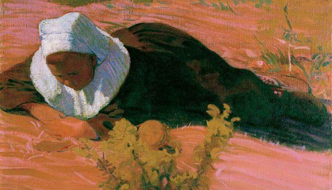 Cuno Amiet, Ragazzo bretone 1893 (© M. + D. Thalmann, Herzogenbuchsee)