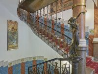 Scalinata dell'Hotel Paříž