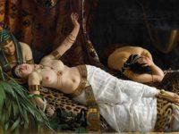 Achille Glisenti, Cleopatra morente, 1878