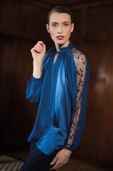 Femminilità Bagutta-Donna-blu