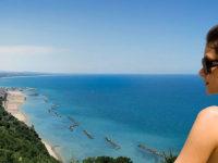 Gabicce mare, vista dall'hotel Posillipo