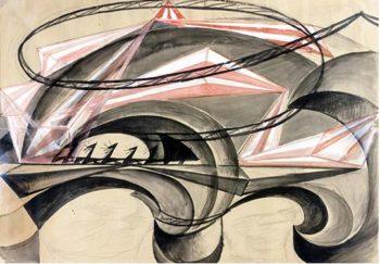 Morandi - Giacomo Balla, Ponte della velocità, 1915