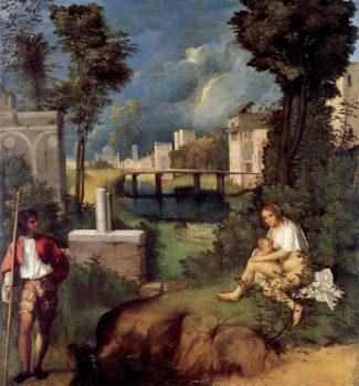 Giorgione La-Tempesta