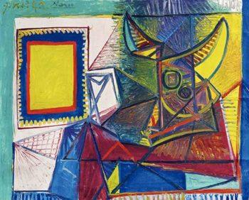Morandi - Picasso, Natura morta con testa di toro