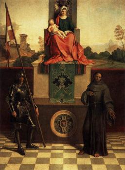 Giorgione Pala-d'altare di-Giorgione
