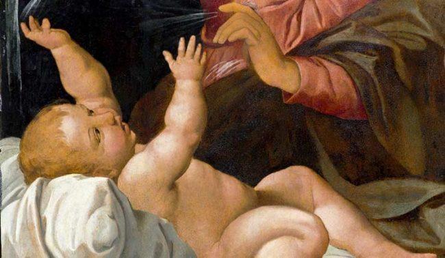 Gesù Bambino, XVI secolo, di Raffaello