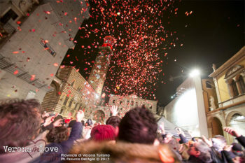 Verona in love pioggia-di-coriandoli