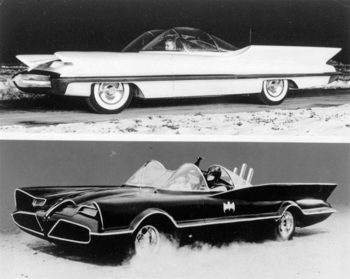 Auto e cinema Batmobile Lincoln futura