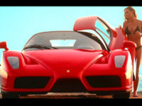 La Ferrari nella serie Charlie's Aangels