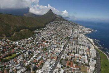 Cape Town veduta-aerea-di-Seapoint