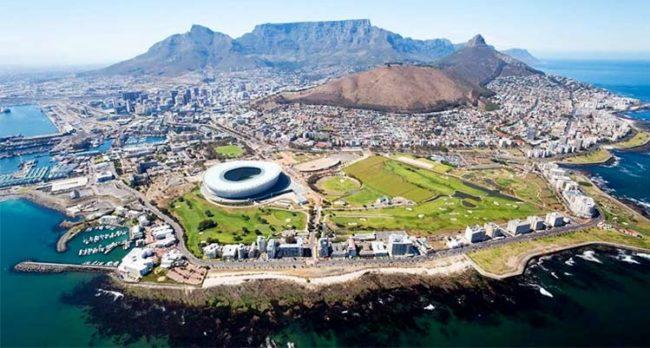 Città del Capo vista dall'alto