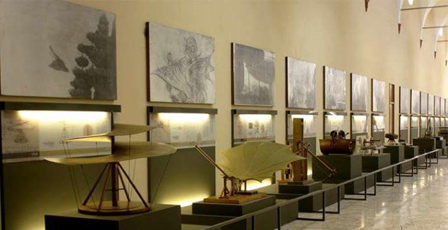 Galleria Leonardo ©Archivio Museo Nazionale Scienza Tecnologia