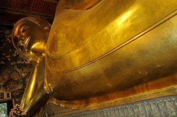 Bangkok Wat Pho-Budda-sdraiato