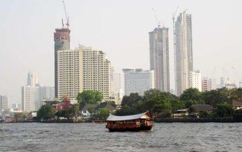 Bangkok fiume-e-grattacieli