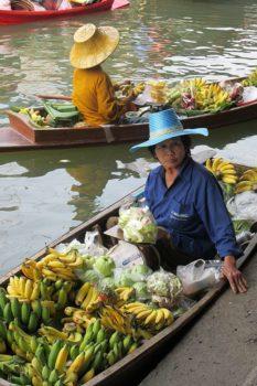 Bangkok mercato-galleggiante