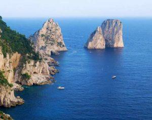 La metropolitana arriva sull'isola di Capri