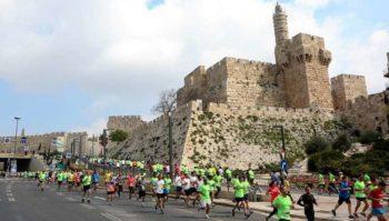 Maratona di Gerusalemme 2017