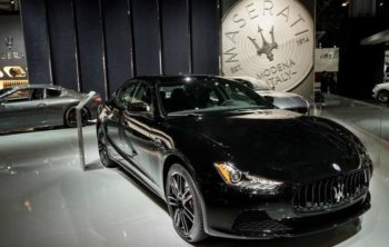 Ginevra 2018 Maserati-Ghibli-nerissimo